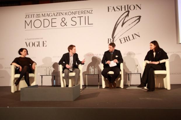 Melissa Drier, Tillmann Prüfer, Marcus Kurz (Kreativagentur nowadays), Anita Tillmann