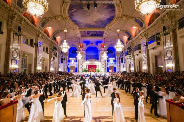 Der Festsaal der Wiener Hofburg