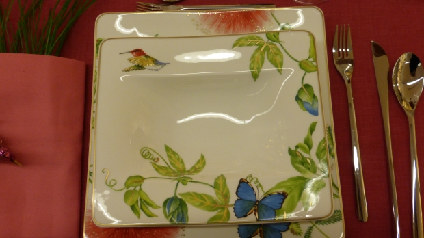 Kolibris, Schmetterlinge und grün!